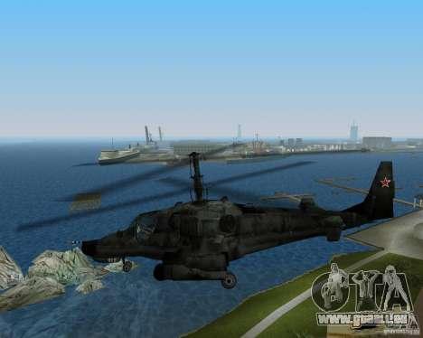 KA-50 pour une vue GTA Vice City de la droite