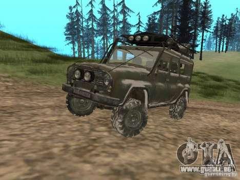 UAZ-31519 de COD MW2 pour GTA San Andreas