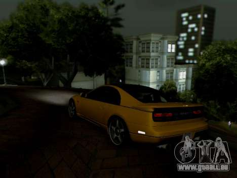 Nissan 300ZX Fairlady Z32 pour GTA San Andreas laissé vue