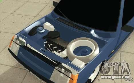 1102-ZAZ Tavria Tuning pour GTA San Andreas vue de dessus