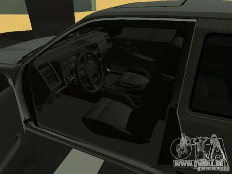 Ford Sierra RS500 Cosworth 1987 für GTA San Andreas zurück linke Ansicht