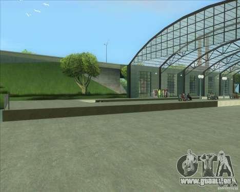 Les plates-formes élevées dans les gares pour GTA San Andreas cinquième écran