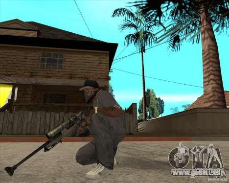 AWP.50 pour GTA San Andreas deuxième écran
