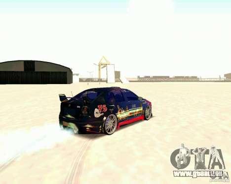 Skoda Octavia III Tuning für GTA San Andreas rechten Ansicht