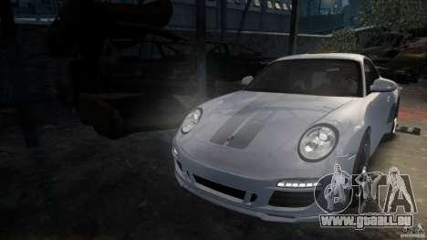 Porsche 911 Sport Classic v2.0 pour GTA 4 Vue arrière de la gauche