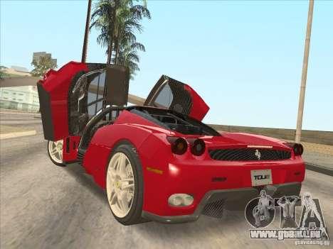 Ferrari Enzo 2010 für GTA San Andreas linke Ansicht