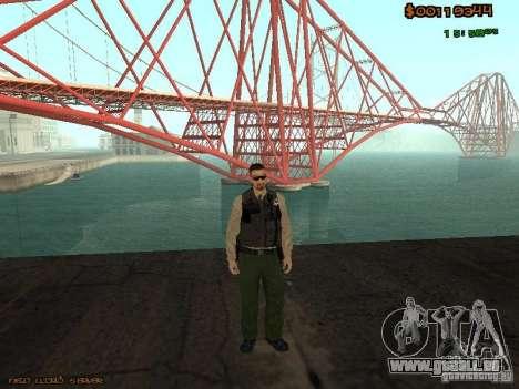 Sheriff Departament Skins Pack für GTA San Andreas dritten Screenshot
