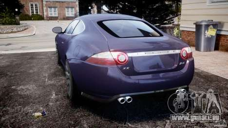 Jaguar XKR-S für GTA 4 hinten links Ansicht
