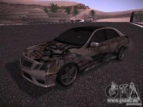Mercedes-Benz E63 AMG für GTA San Andreas Seitenansicht