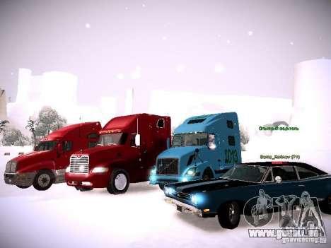 Volvo VNL 670 pour GTA San Andreas laissé vue