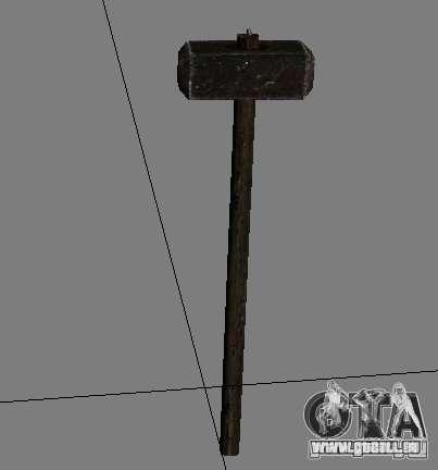 Une série d'armes de stalker V2 pour GTA San Andreas dixième écran