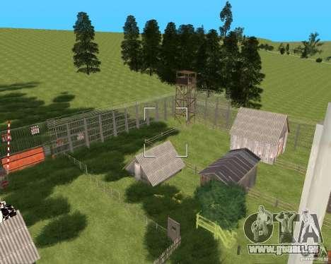 Base Gareli für GTA San Andreas dritten Screenshot
