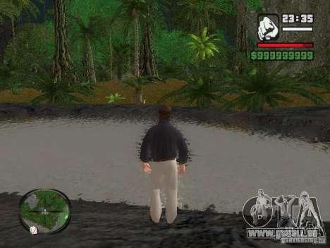 Tony Montana dans une chemise pour GTA San Andreas deuxième écran