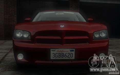 Dodge Charger RT Hemi 2008 für GTA 4 obere Ansicht