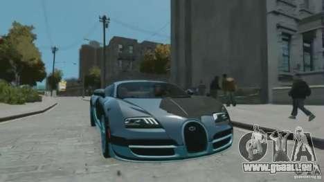 Bugatti Veyron 16.4 Super Sport pour GTA 4 est un droit