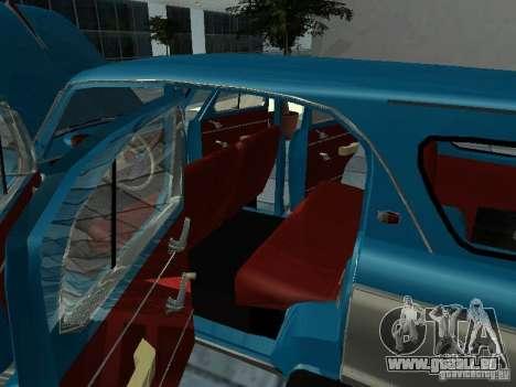 Moskvitsch 423 für GTA San Andreas Innenansicht