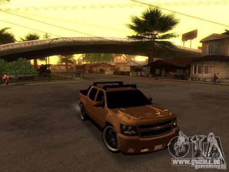Chevrolet Avalanche Tuning für GTA San Andreas