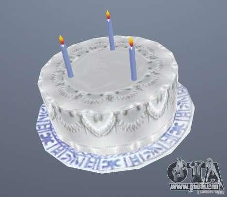 Happy Birthday Grenades für GTA San Andreas