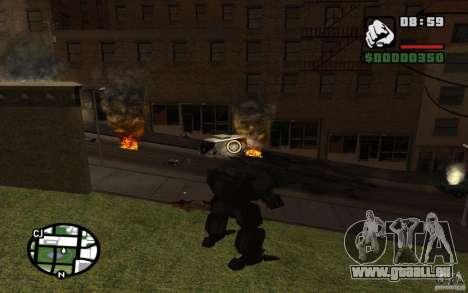 Exoskelett für GTA San Andreas dritten Screenshot