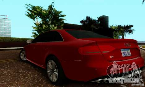 Audi S4 2010 für GTA San Andreas rechten Ansicht