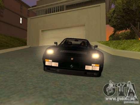 Ferrari 288 GTO pour GTA San Andreas salon