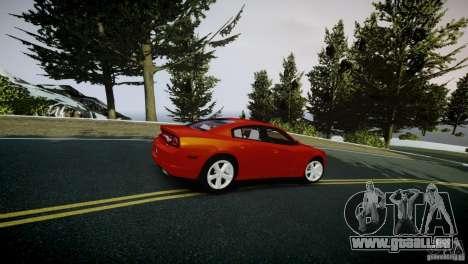 Dodge Charger R/T 2011 Max pour GTA 4 Vue arrière