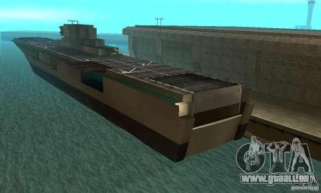 Flugzeugtrager pour GTA San Andreas