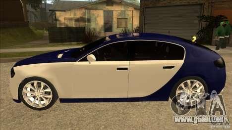 Bugatti Galibier 16c pour GTA San Andreas laissé vue