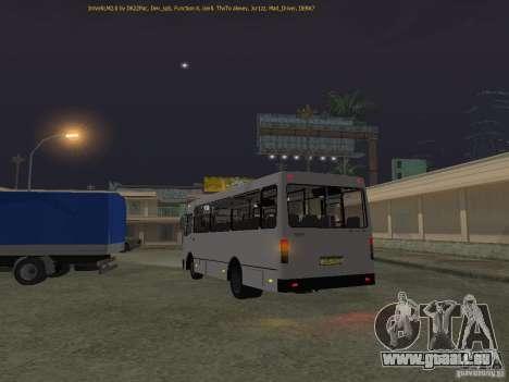 Bogdan IVLM A091 für GTA San Andreas zurück linke Ansicht