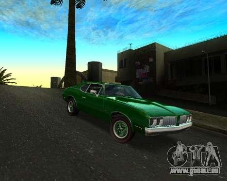 EON Stallion GT-A für GTA San Andreas zurück linke Ansicht