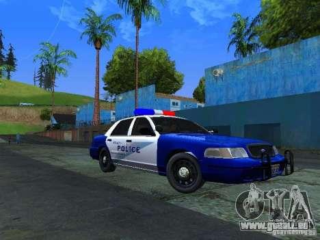 Ford Crown Victoria Belling State Washington für GTA San Andreas linke Ansicht