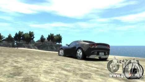 Lotus Elise v2.0 pour GTA 4 est une gauche