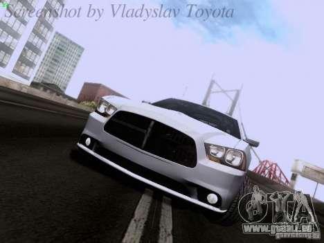 Dodge Charger 2013 pour GTA San Andreas laissé vue