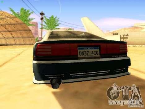 Toyota Supra für GTA San Andreas Räder