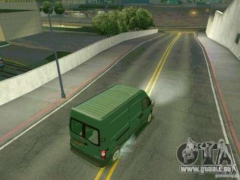 Renault Master pour GTA San Andreas vue de droite