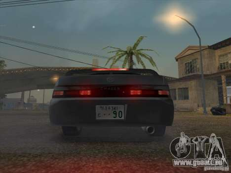 Toyota Chaser JZX90 Stock pour GTA San Andreas vue arrière