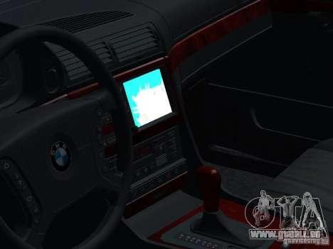 BMW 740I E38 (RUS) für GTA San Andreas Seitenansicht