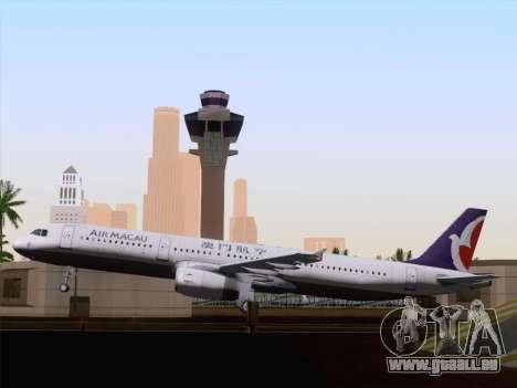 Airbus A321 Air Macau für GTA San Andreas Seitenansicht