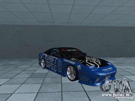 Nissan RPS13 Drift Spec für GTA San Andreas Innenansicht