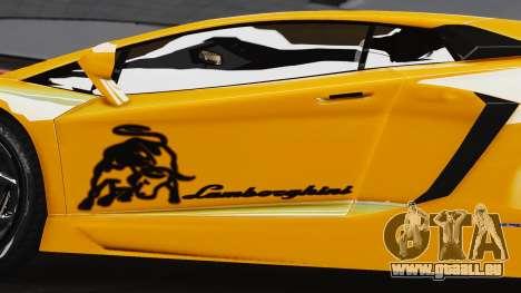Lamborghini Aventador LP700-4 2012 pour GTA 4 est un droit