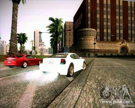 GTA 4 TBoGT von Buffalo für GTA San Andreas zurück linke Ansicht