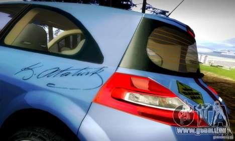 Renault Megane Coupe 2008 TR pour GTA San Andreas vue arrière
