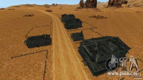 Red Dead Desert 2012 pour GTA 4 septième écran