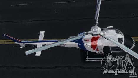 Eurocopter AS350 Ecureuil (Squirrel) Malaysia für GTA 4 Rückansicht
