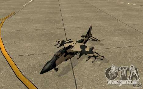 Camo Hydra für GTA San Andreas linke Ansicht