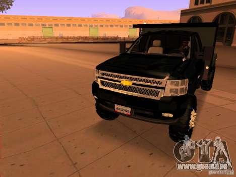 Chevrolet Silverado HD 3500 2012 pour GTA San Andreas