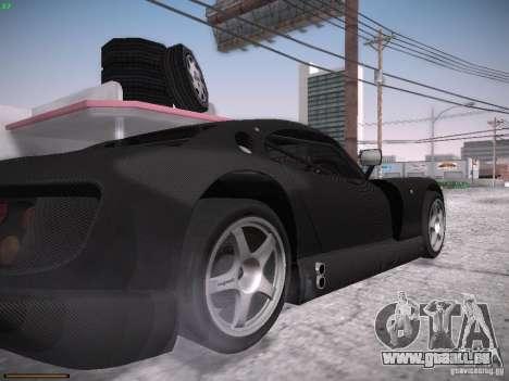 TVR Cerbera Speed 12 pour GTA San Andreas vue intérieure