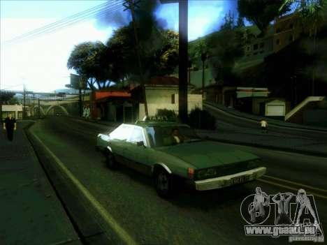 Ein Taxi vom dri3r für GTA San Andreas Rückansicht