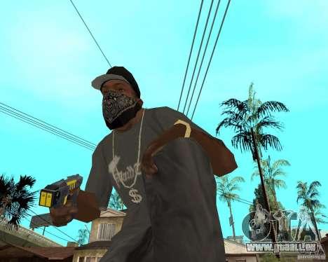 Taser für GTA San Andreas zweiten Screenshot