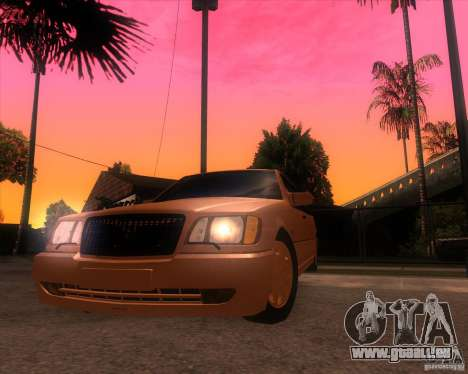 Mercedes-Benz S600 Limo für GTA San Andreas rechten Ansicht